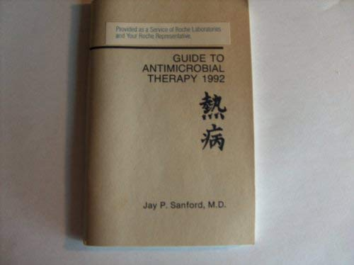 9780933775107: Guide to Antimicrobial Therapy 1992