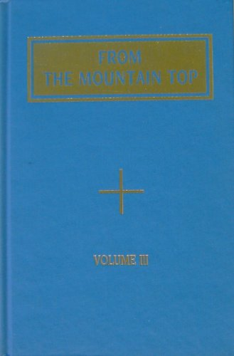 From the Mountain Top, Volume III: Temple of the People (Master Hilarion)