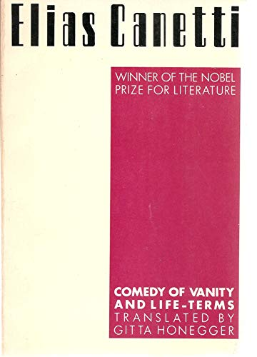 9780933826311: Comedy of Vanity Lifeterm (PAJ Books)