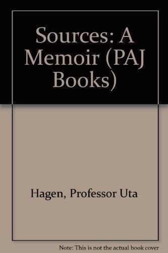 9780933826540: Sources : A Memoir (PAJ Books)