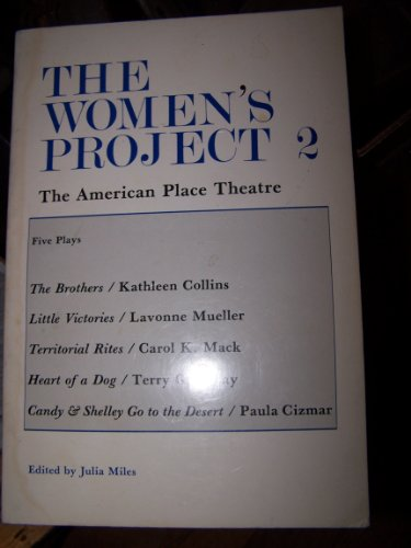9780933826748: The Women's Project 2: The American Place Theater: Five Plays (PAJ Books) (v. 2)