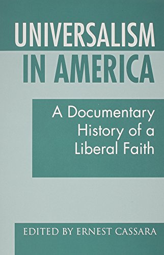 9780933840218: Universalism in America: A Documentary History of a Liberal Faith