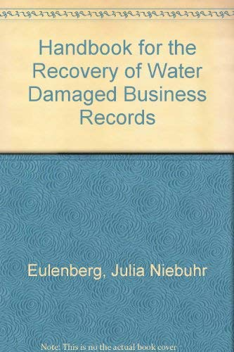 9780933887176: Handbook for the Recovery of Water Damaged Business Records