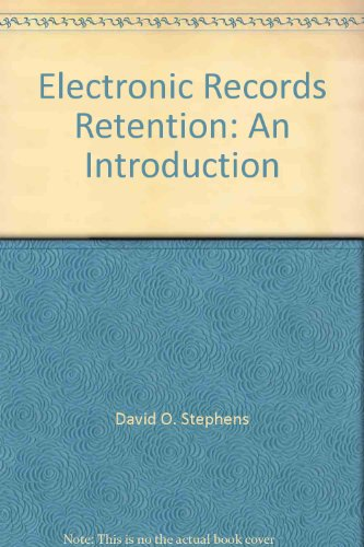 9780933887695: Electronic Records Retention: An Introduction