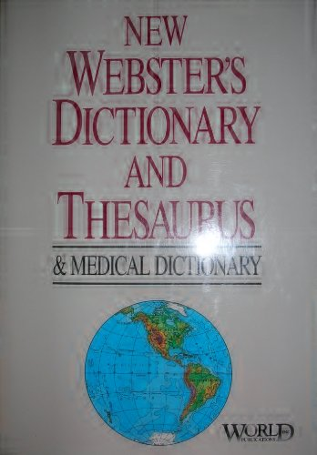 9780933895645: New Webster's dictionary and Roget's thesaurus