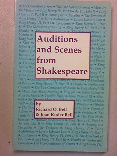 9780933919273: Auditions and Scenes from Shakespeare