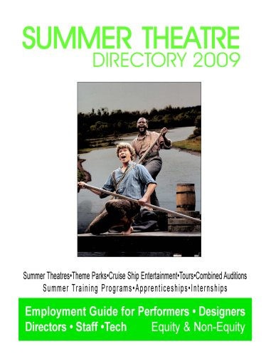 9780933919693: Summer Theatre Directory 2009