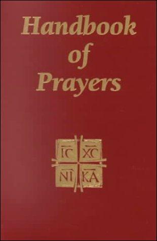 9780933932609: Handbook of Prayers