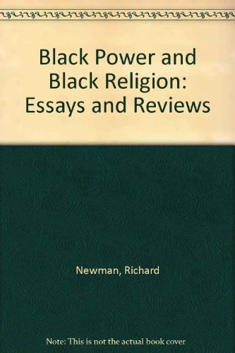 9780933951037: Black Power and Black Religion: Essays and Reviews