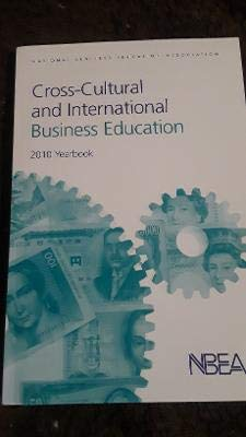 Cross-cultural and International Business Education: 2010 Yearbook: Lila Waldman