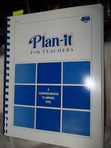 9780933965003: Plan-it for Teachers a Comprehensive Planning Tool