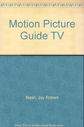 Motion Picture Guide TV (0933997086) by Jay Robert Nash; Stanley Ralph Ross