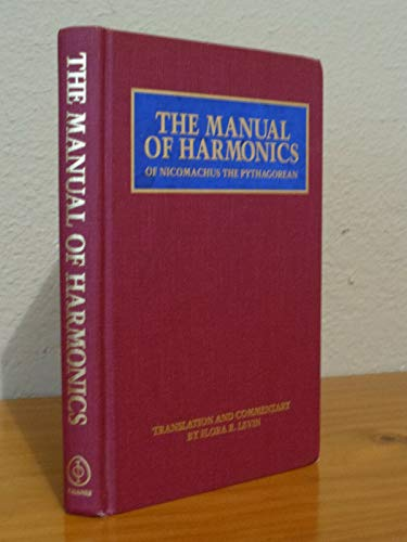 9780933999428: The Manual of Harmonics