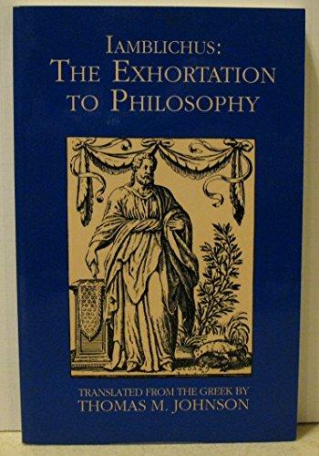 9780933999633: Exhortation to Philosophy