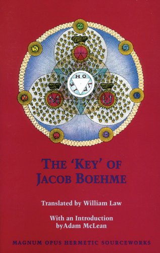 9780933999947: 'key' of Jacob Boehme (Studies in Historical Theology)