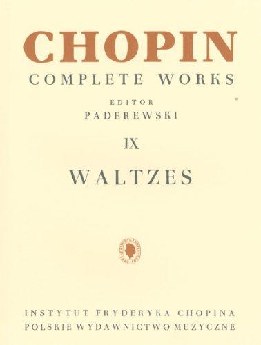 9780934009119: Chopin: Complete Works, Book, 9: Waltzes