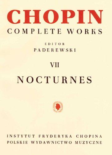9780934009133: Chopin: Complete Works Vii: Nocturnes - Piano Solo