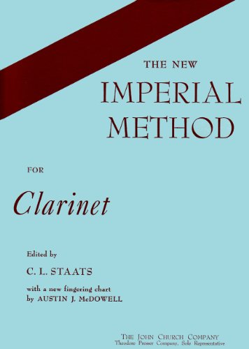 New Imperial Method for Clarinet: Staats, C.L.