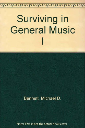 9780934019002: Surviving in General Music I