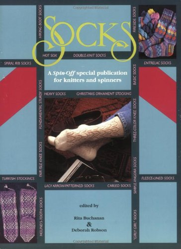 9780934026949: Socks: A Spin-Off Special Publication for Knitters and Spinners