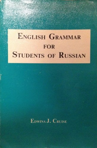 9780934034074: English Grammar for Students of Russian (English grammar series)