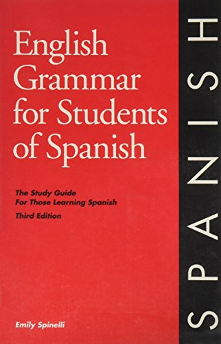 9780934034227: English Grammar for Students of Spanish