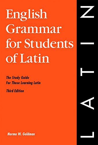 9780934034340: English Grammar for Students of Latin: The Study Guide for Those Learning Latin