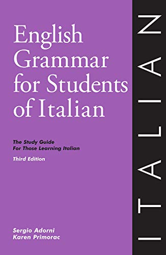 9780934034401: English Grammar for Students of Italian: The Study Guide for Those Learning Italian
