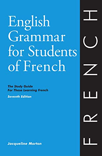 9780934034425 english grammar for students of french the study guide for those learning french. Black Bedroom Furniture Sets. Home Design Ideas