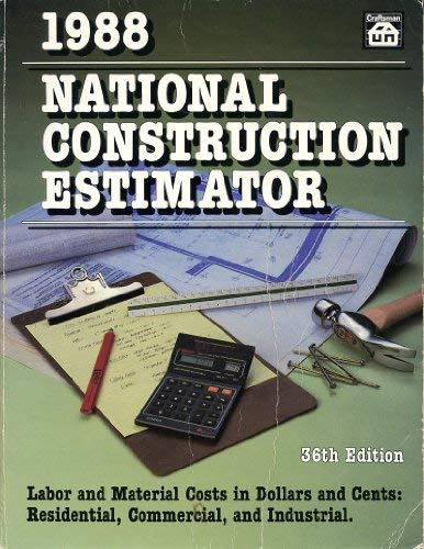 9780934041232: National Construction Estimator - AbeBooks