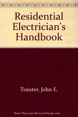 9780934041355: Residential Electrician's Handbook