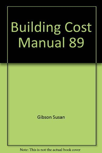 9780934041393: Building Cost Manual 89