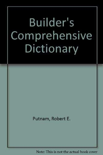 9780934041508: Builder's Comprehensive Dictionary