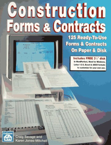 Construction Forms and Contracts: Craig Savage, Karen