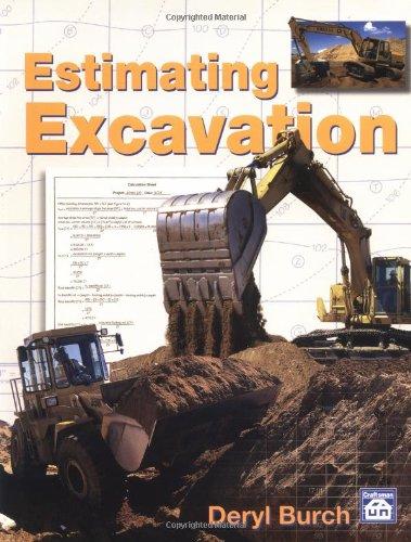 9780934041966: Estimating Excavation