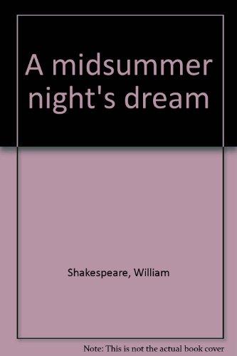 9780934048101: A midsummer night's dream