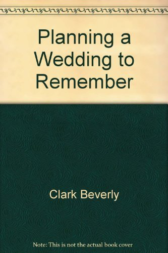9780934081009: Planning a Wedding to Remember