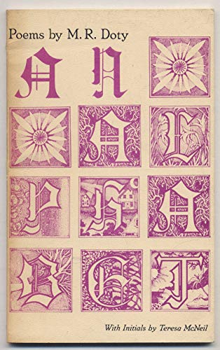 An alphabet: Poems: M. R Doty
