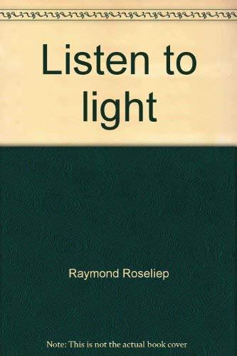 9780934184069: Listen to light: Haiku