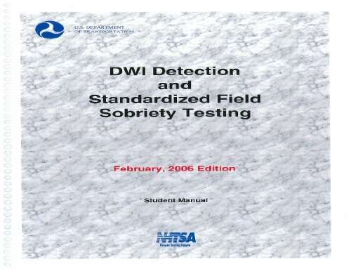 9780934213981: DWI Detection and Standardized Field Sobriety Testing (Student Manual)