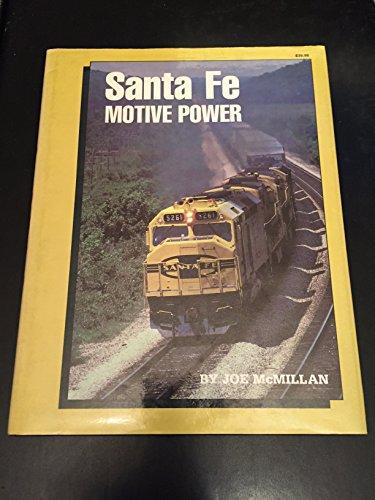 9780934228084: Santa Fe Motive Power