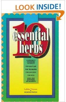 10 Essential Herbs: Lalitha Thomas