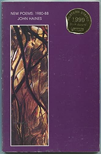 New Poems: 1980-88: John Haines