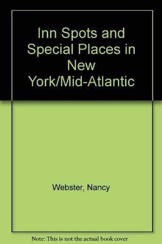 Inn spots & special places: Webster, Nancy