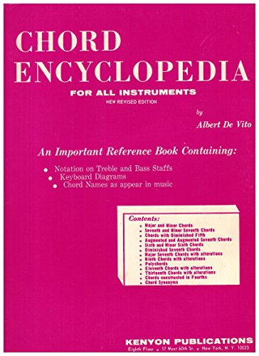 Chord Encyclopedia for All Instruments: New Revised: De Vito, Albert