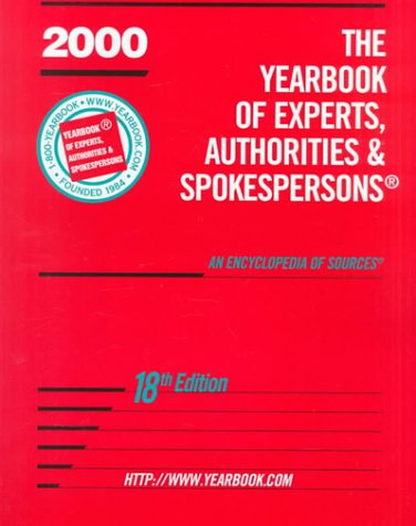 The Yearbook of Experts, Authorities & Spokesperson, 18th Edition: Source, Broadcast Interview