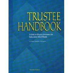 9780934338967: Trustee Handbook: A Guide to Effective Governance for Independent School Boards