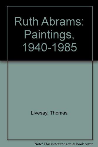 9780934349031: A Ruth Abrams: Paintings 194