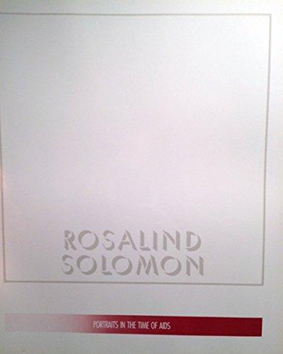 Rosalind Solomon: Portraits in the Time of: Sokolowski, Thomas W.