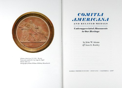 9780934352093: COMITIA AMERICANA AND RELATED MEDALS, UNDERAPPRECIATED MONUMENTS TO OUR HERITAGE. A LEAF BOOK.
